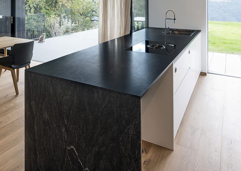 Plan de travail granit pour votre cuisine et salle de bain - Renover plan de travail cuisine carrele ...