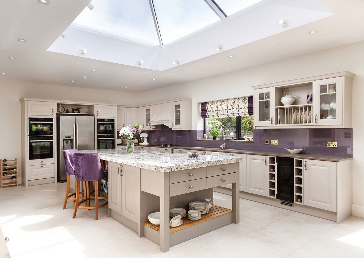 Plan de travail granit pour votre cuisine et salle de bain - Dimensions plan de travail cuisine ...