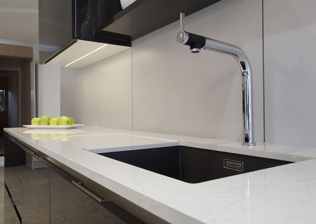 Plan Travail En Quartz plan de travail quartz stone italiana pour votre cuisine et