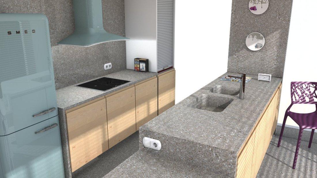 plan de travail quartz silestone forest snow easy plan de travail. Black Bedroom Furniture Sets. Home Design Ideas