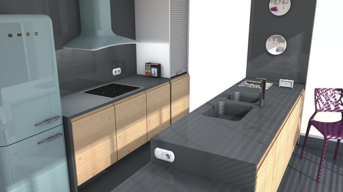 plan de travail quartz silestone marengo easy plan de. Black Bedroom Furniture Sets. Home Design Ideas
