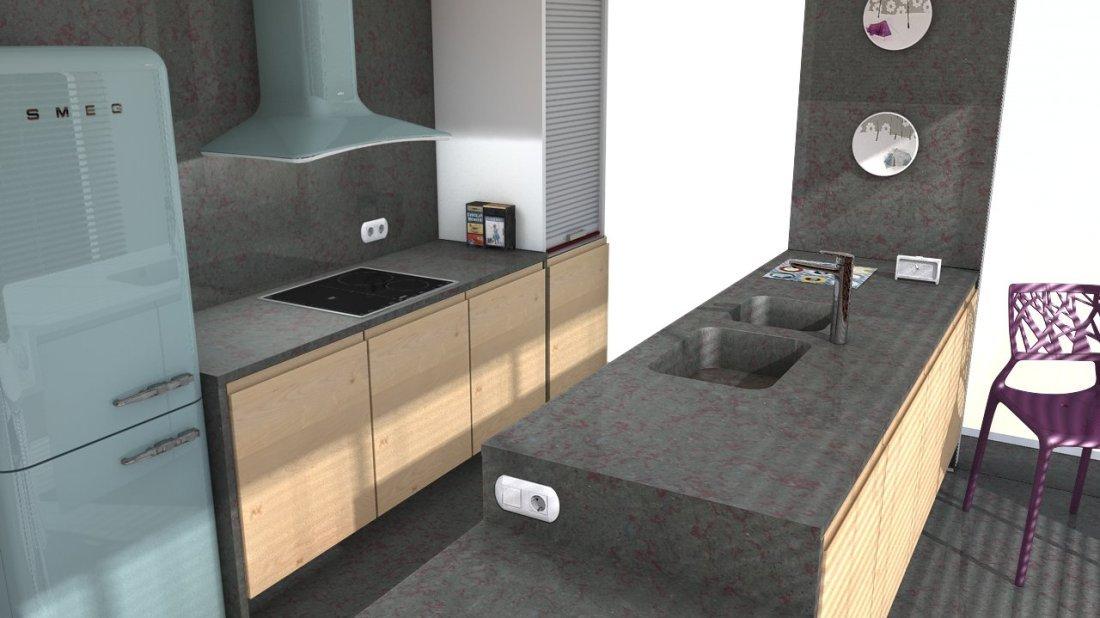 plan de travail quartz silestone tritium easy plan de travail. Black Bedroom Furniture Sets. Home Design Ideas