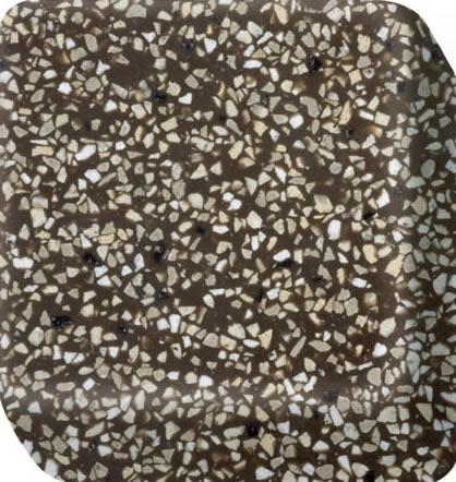 Kitchenfab plan de travail corian palladian brown - Credence corian ...