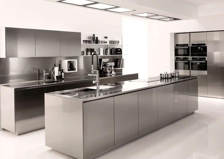 Plan de travail inox pour votre cuisine et salle de bain - Dimensions plan de travail cuisine ...